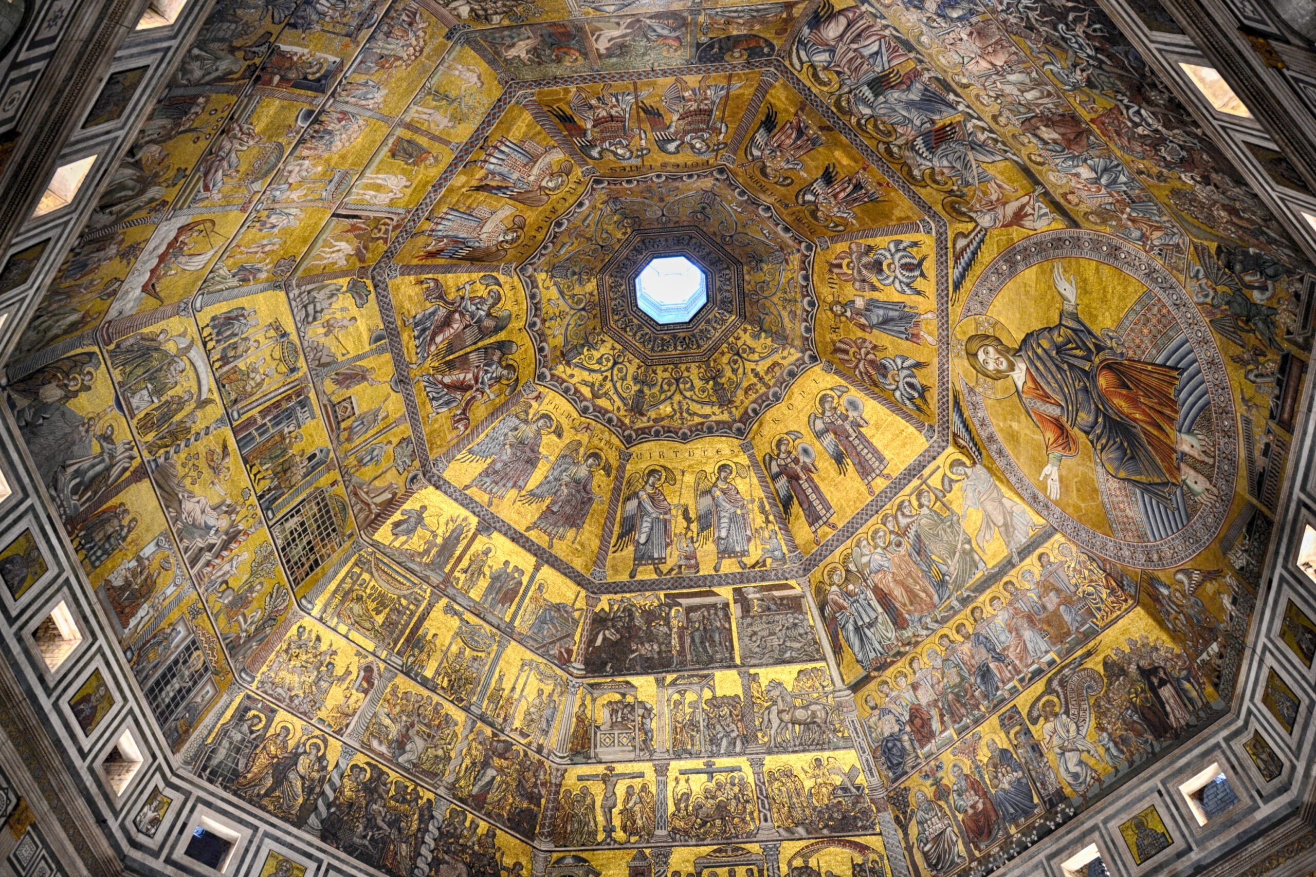 La cattedrale di Santa Maria del fiore Battistero