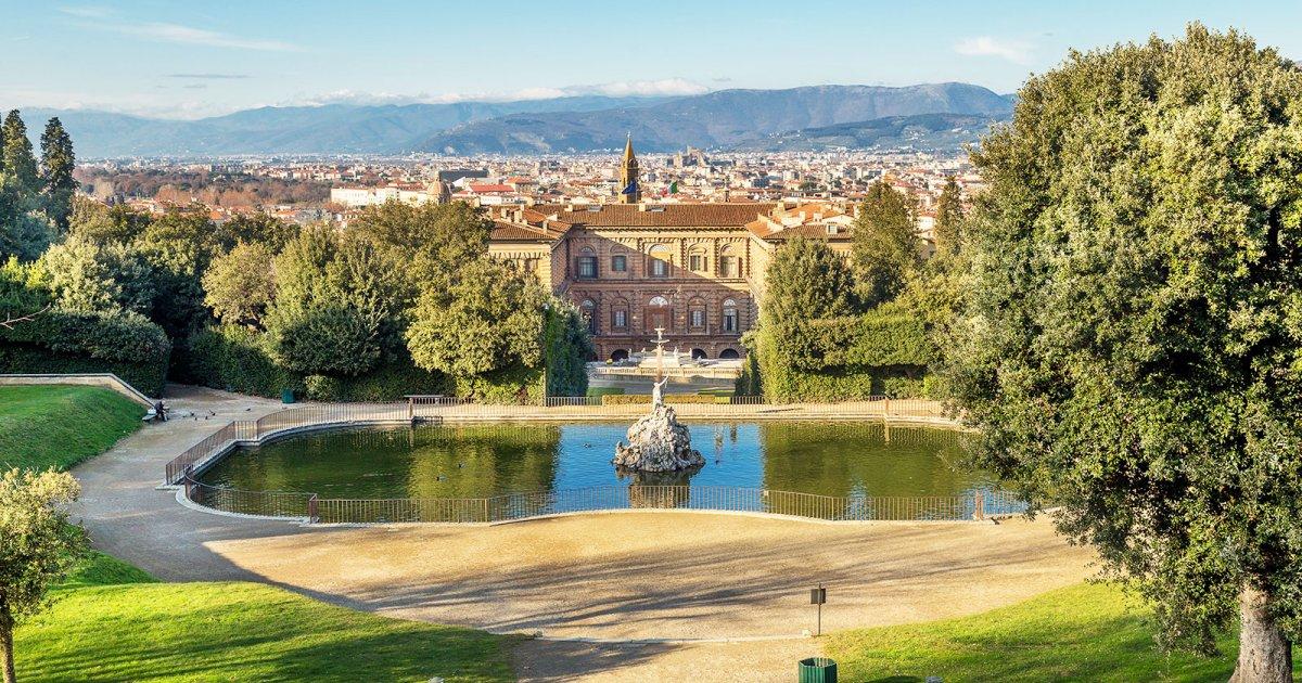 Palazzo Pitti Giardino di Boboli Guida Turistica a Firenze